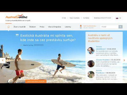 www.australiaonline.sk