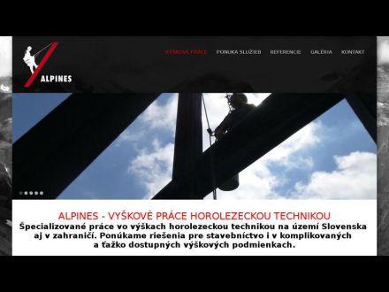 www.alpines.sk