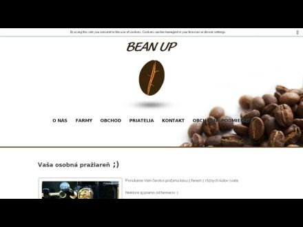 www.beanup.sk