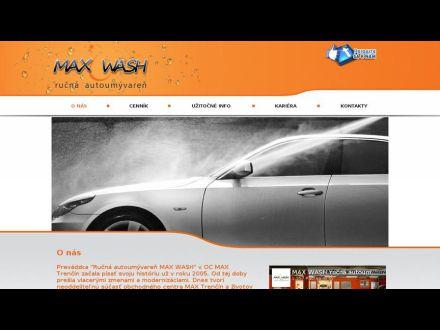 www.maxwash.sk