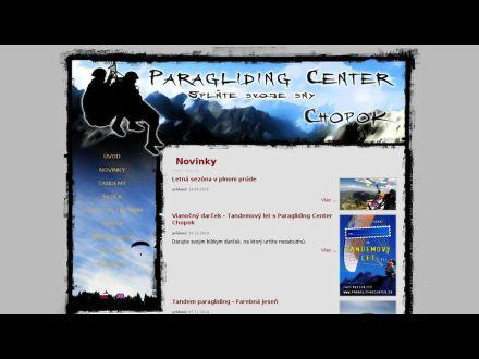 www.paraglidingcenter.sk