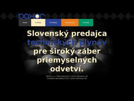 www.baxor.sk
