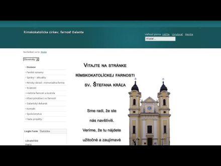 www.galanta.fara.sk