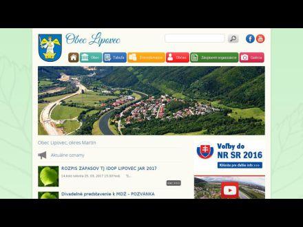 www.lipovec.sk