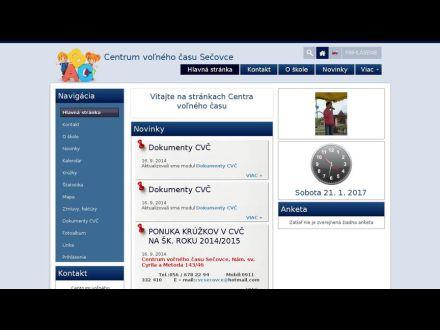 www.cvcsecovce.edupage.org
