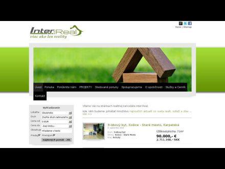 www.interreal.sk
