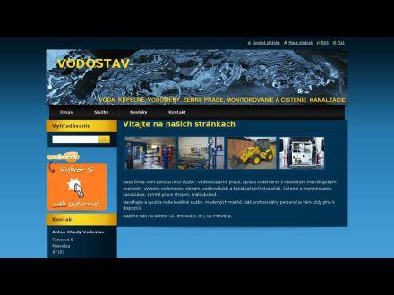 www.vodostavchudy.webnode.sk