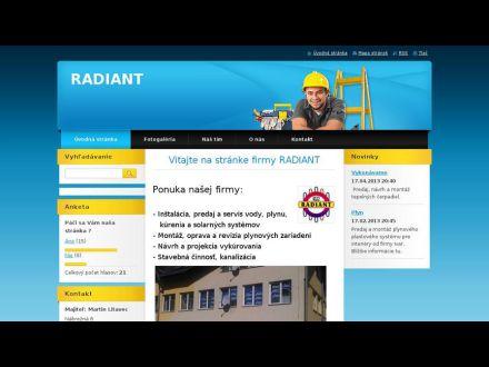 www.radiant.webnode.sk