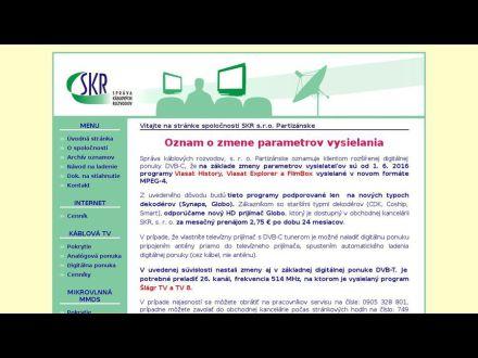 www.skrpartizanske.sk