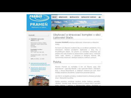 www.penzion-pramen.sk