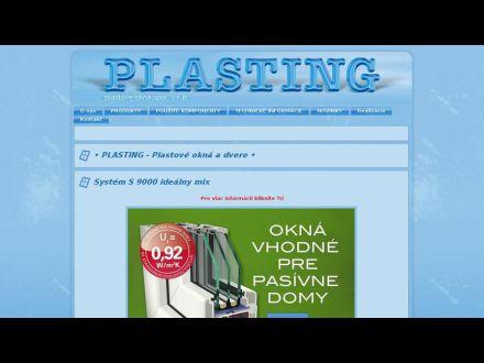 www.plasting.sk