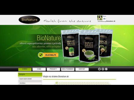 www.bionature.sk