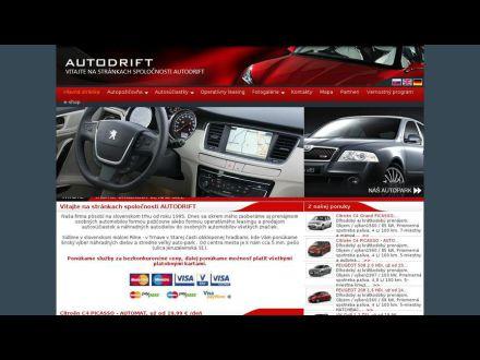 www.autodrift.sk