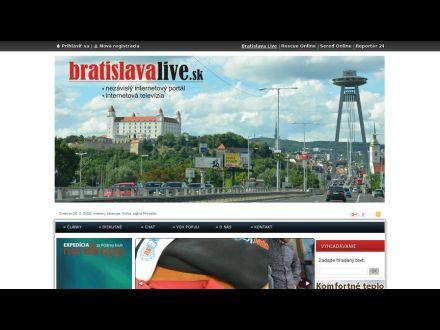 www.bratislavalive.sk