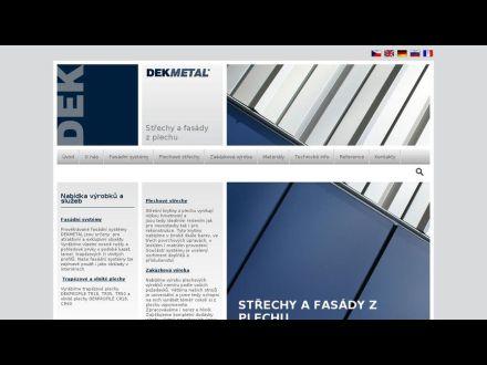 www.dekmetal.cz