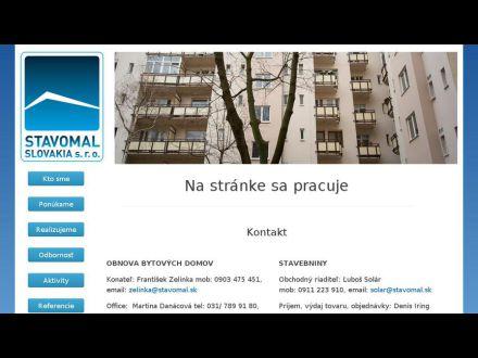 www.stavomal.sk