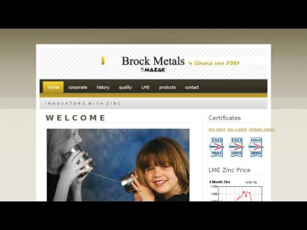 www.brockmetals.sk