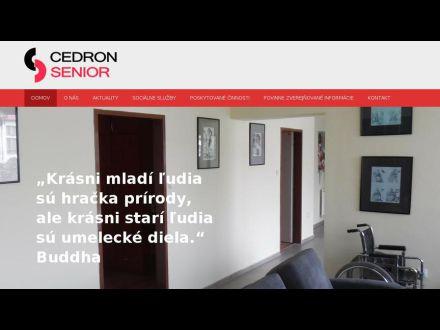 www.cedronsenior.sk