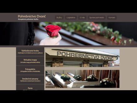 www.pohrebnictvodvonc.sk