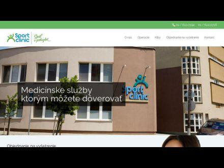 www.sportclinic.sk