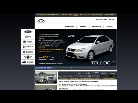 www.auto-rent-plus.sk