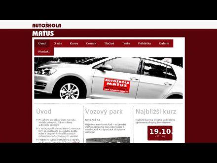 www.autoskolamatus.sk
