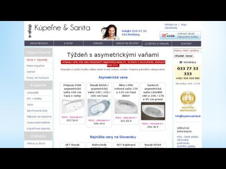 www.kupelne-sanita.sk