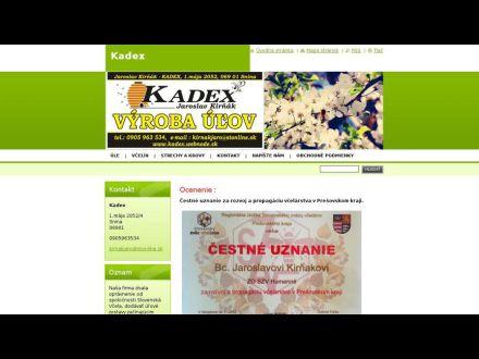 www.kadex.webnode.sk