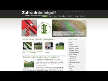 www.zahradniminigolf.cz
