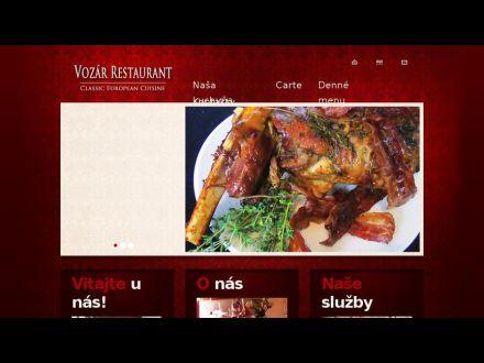 www.vozarrestaurant.sk