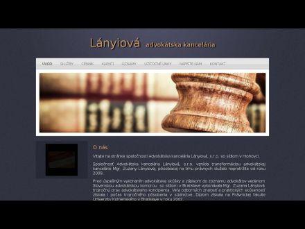 www.lanyiova.sk