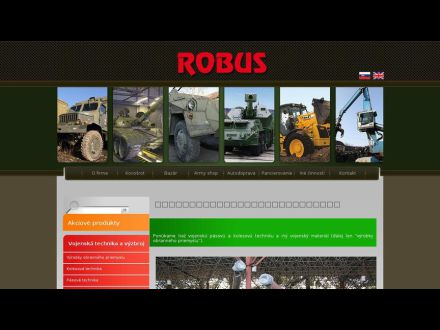 www.robus.sk
