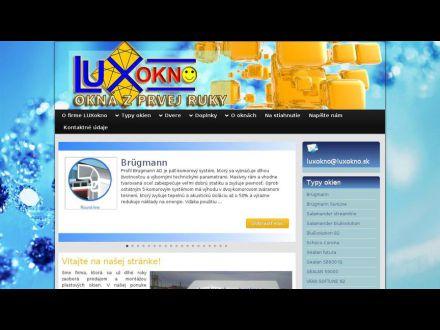 www.luxokno.sk