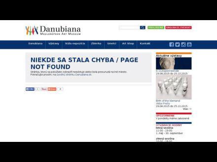 danubiana.eu/svk/index.html
