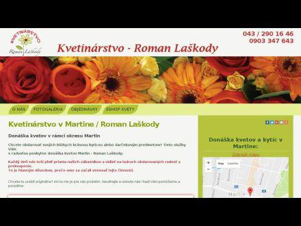www.donaskakvetov-martin.sk