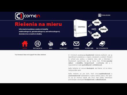 www.comein.sk
