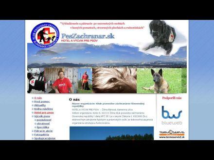 www.peszachranar.sk