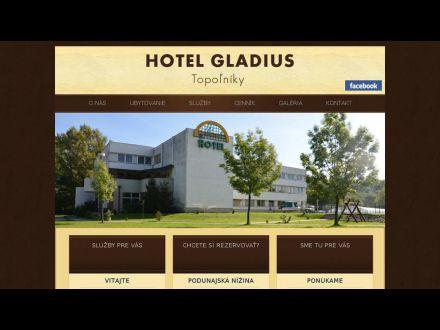 www.hotelgladius.sk