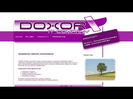www.doxor.sk