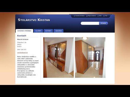www.stolarstvokristan.sk