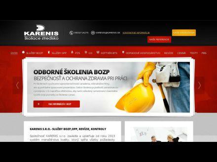 www.karenis.sk