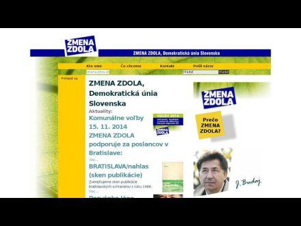 www.zmenazdola.sk