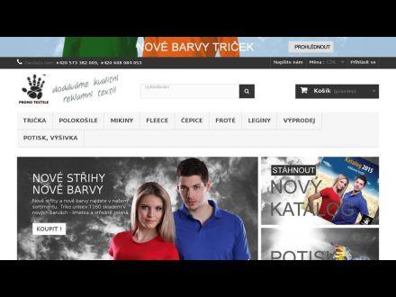 www.promotextile.cz