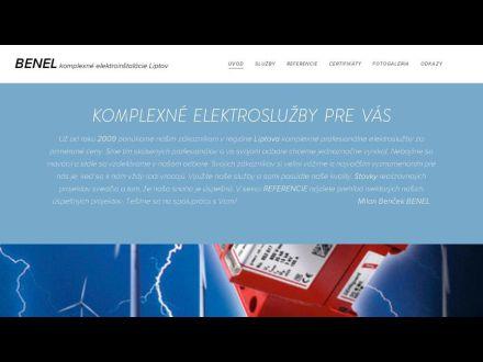 www.benel.sk