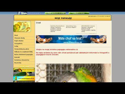 www.papagaje.websnadno.cz