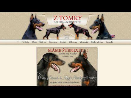 www.dobermannztomky.com