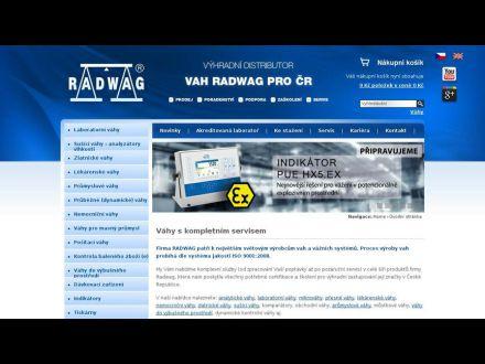 www.vahy-radwag.cz