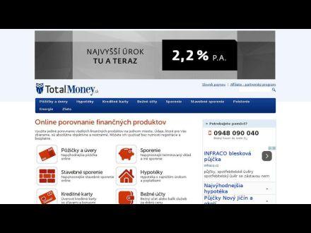 www.totalmoney.sk