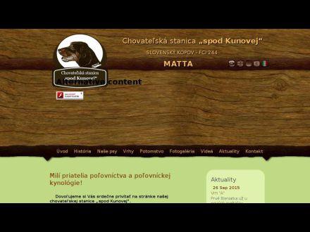 www.kopov-matta.sk