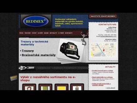www.bedimex.cz
